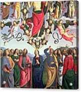 The Ascension Of Christ Acrylic Print by Pietro Perugino