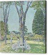 The Audition Acrylic Print by Childe Hassam