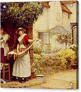 The Ballad Seller Acrylic Print