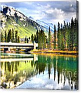 The Banff Bridge Acrylic Print