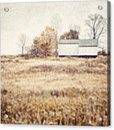 The Barn On The Hill Acrylic Print