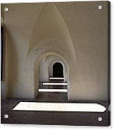 The Barracks Were Built With Vaulted Acrylic Print