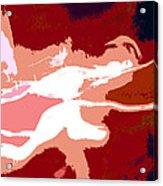 The Baseball Pitcher Acrylic Print by David Lee Thompson