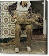 The Basket Maker Acrylic Print