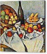 The Basket Of Apples Acrylic Print