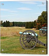 The Battle Of First Manassas  Acrylic Print