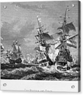 The Battle Of Texel, 1673 Acrylic Print