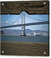 The Bay Bridge Acrylic Print