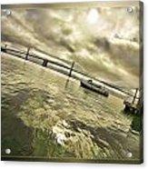 The Bay Bridge Cruz Acrylic Print