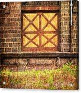 The Bay Door  Acrylic Print