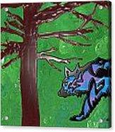 the bears of Canada Acrylic Print