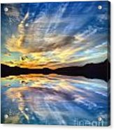 The Beauty Before The Darkness Acrylic Print
