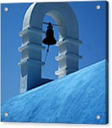 The Bell Tower In Mykonos Acrylic Print