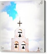 The Belltower In Tuscon Az Acrylic Print