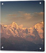 The Bernese Alps Acrylic Print