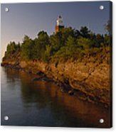 The Big Bay Point Lighthouse, Now A Bed Acrylic Print