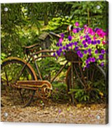 The Bike Stops Here - Niagara Acrylic Print
