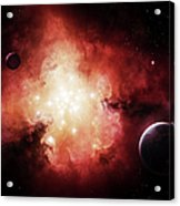 The Birth Of Numerous Stars Exposing Acrylic Print