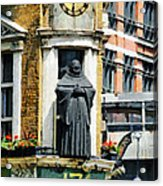 The Black Friar Pub In London Acrylic Print