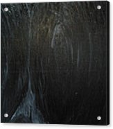 The Black Narrow Path Acrylic Print