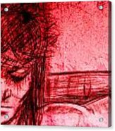 The Blood Of Christ Acrylic Print