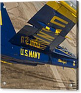 The Blue Angels Perform Over El Centro Acrylic Print