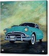 The Blue Hornet Acrylic Print