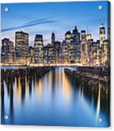 The Blue Hour Acrylic Print