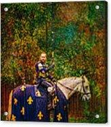 The Blue Knight  Acrylic Print