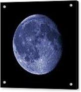 The Blue Moon Acrylic Print