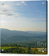 The Blue Ridge Mountains In July 01 Acrylic Print