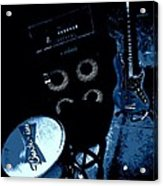 The Blues Corner Acrylic Print