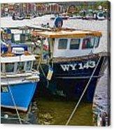 The Boats  Acrylic Print