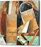 The Bottle Of Banyuls Acrylic Print
