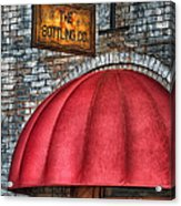The Bottling Co. Acrylic Print by Brenda Bryant