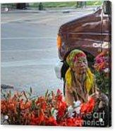 The Bouquet Maker Acrylic Print