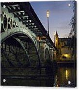The Bridge Of Triana, Puente De Triana Acrylic Print