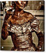 The Bronze Lady In Pike Place Market Acrylic Print