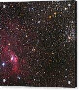 The Bubble Nebula Acrylic Print