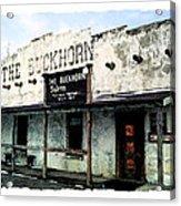 The Buckhorn Saloon Acrylic Print