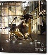 The Bull Acrylic Print