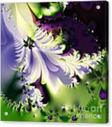 The Butterfly Effect . Version 2 . Square Acrylic Print by Wingsdomain Art and Photography