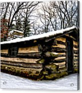 The Cabin In The Woods Acrylic Print