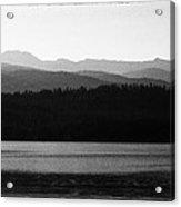 The Calm Waters Of Priest Lake Idaho Acrylic Print