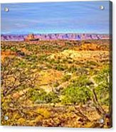 The Canyon In The Distance Acrylic Print