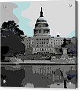 the Capitol  Acrylic Print