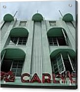 The Carlyle Acrylic Print