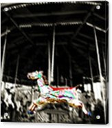 The Carousel Horse Acrylic Print