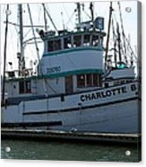 The Charlotte B Acrylic Print by Chalet Roome-Rigdon