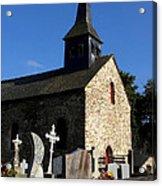 The Church Of Sainte-onenne Acrylic Print